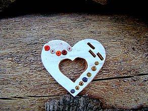 Dekorácie - Svadobné srdce - 4687296_