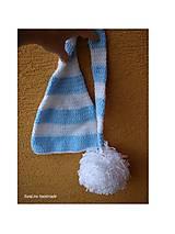 Detské čiapky - detská čiapka pasikavá pre chlapca - 4686497_