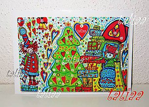 Papiernictvo - VIANOCE - klasická pohľadnica 14,8 x 10,5 cm - 4688747_