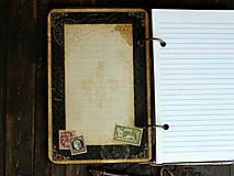 Papiernictvo - Country/vytvrdený obal,perfektný na dotyk - 4688825_