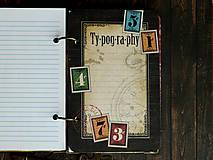 Papiernictvo - Country/vytvrdený obal,perfektný na dotyk - 4688826_