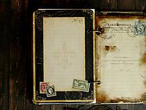 Papiernictvo - Country/vytvrdený obal,perfektný na dotyk - 4688834_
