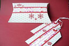 Krabičky - Darčekový vianočný set - 4686783_
