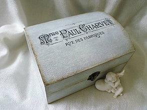 Krabičky - * vintage krabička * - 4684899_