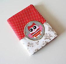 Peňaženky - Obal na doklady sovičkový - 4690982_