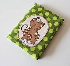 Peňaženky - Obal na doklady mačičkový - 4691061_