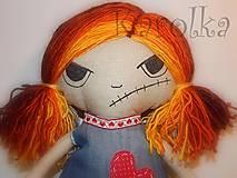 Bábiky - Bábika Angry Doll - 4692519_