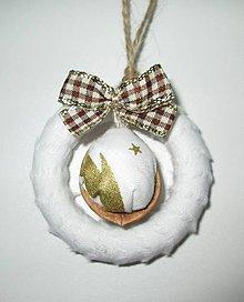 Dekorácie - vianočné oriešky trochu inak... - 4692434_