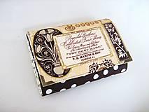 Peňaženky - Pretty Women Zlaté květinky - peněženka i na karty - 4692386_