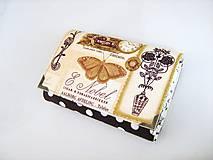Peňaženky - Pretty Women Zlatý motýl II. -peněženka i na karty - 4692420_