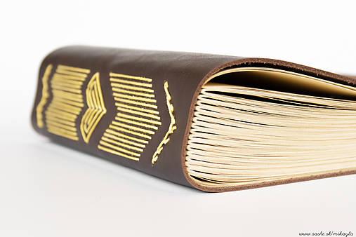 Papiernictvo - Kožený zápisník Čičmianske Sŕcko A5 - 4690312_