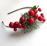 Ozdoby do vlasov - Vianočná - 4691054_