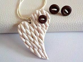 Sady šperkov - AKCIA! slahacka s kuskom cokolady-sada PRE TEBA.. - 4691326_