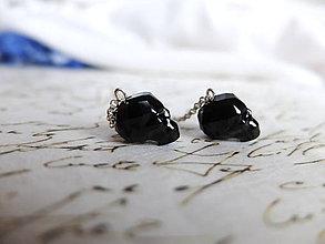 Náušnice - Luxury skulls mini - 4697275_