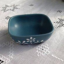 Nádoby - Tyrkysová  miska malá - 4699691_