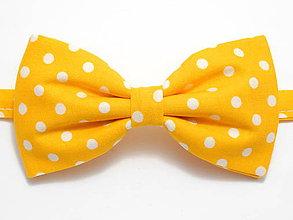 Doplnky - Motýlik Žltý bodkáč - 4695015_