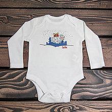 Detské oblečenie - Vianočná ovečka s menom - 4699817_