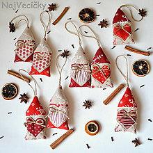 Dekorácie - Vianočné Mini Chalúpky - 4698663_