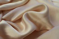 Textil - Satén jemne ružový - 4696384_