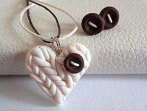 Sady šperkov - slahacka s kuskom cokolady-sada PRE TEBA.. - 4700293_