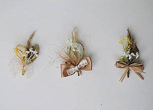 Pierka - Svadobné pierka jemné prírodné - 4703257_