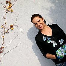 Mikiny - Mozaika s korálky...ZĽAVA! - 4703500_