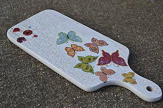 Pomôcky - motýlikový lopárik k vreckovkárni - 4703588_
