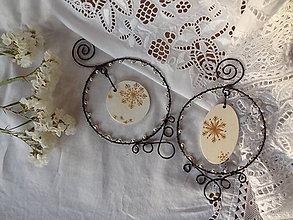 Dekorácie - vianoce...zlaté ...šiška - 4702455_