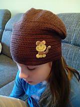 Detské čiapky - Hučka Opice - 4703110_
