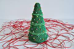 - Vianočný stromček - korálkový - 4702282_