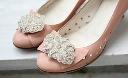 - Klipy na topánky štrasové - 4706141_