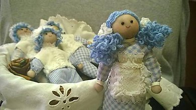Bábiky - Malá chyžná. - 4709816_