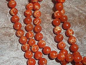 Minerály - Regalit f. oranžová 6mm - 4711337_