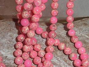 Minerály - Regalit f. ružová 6mm - 4711353_