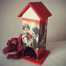 Krabičky - Domček na čaj Amour - 4707749_