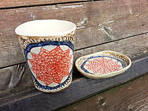 - Sada pohár na kefky a mydlovnička slnko - 4713368_