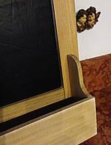 Tabuľky - Tabuľka so šuplíčkom na tajomstvá... - 4716470_