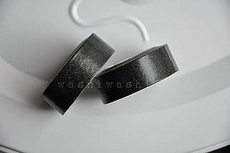 Papier - washi paska cierno cierna - 4716027_