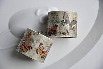 Papier - washi paska butterflies - 4716366_