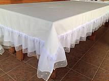 Úžitkový textil - Svadobný obrus - 4713931_