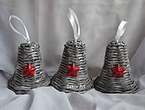 Dekorácie - Sivé zvončeky  - 4712752_