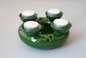 Svietidlá a sviečky - Adventní svícen 2v1 - 4711851_