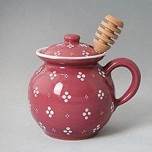 Nádoby - Dóza na med s jedním ouškem - 4711918_