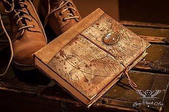 Papiernictvo - Exclusive Travel Life Diary/ na zákazku :) - 4712163_