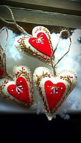 Dekorácie - srdce na dlani - 4712133_
