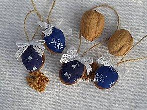 Dekorácie - Oriešky na vianočný stromček vzor č.5 - 4713895_