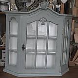 Nábytok - Závesná skrinka šedá PREDANÁ - 4713152_
