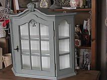 Nábytok - Závesná skrinka šedá PREDANÁ - 4713156_