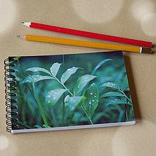 Papiernictvo - Malý zápisník - Lesné tajomstvá II. - 4713520_