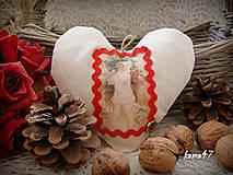Dekorácie - Srdiečko s dievčatkom - 4718717_